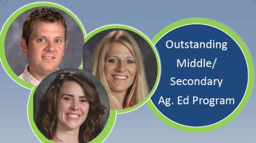 Outstanding Middle/Secondary Ag. Ed. Program